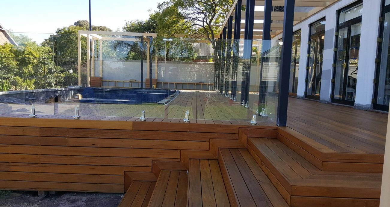 Melbourne Glass Pool Fencing Frameless Semi Framed Pool Fencing